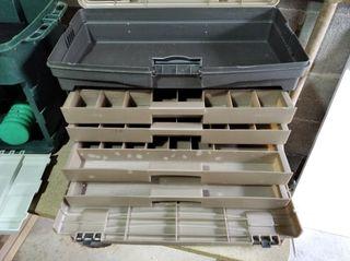 cajas de pesca PLANO