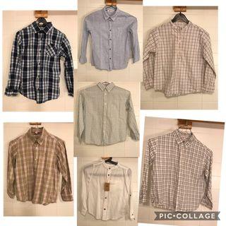 Camisas niño 6-8 años