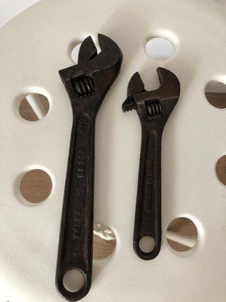 Herramientas de hierro antiguas