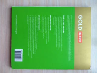 libro inglés Gold New Edition B2 first