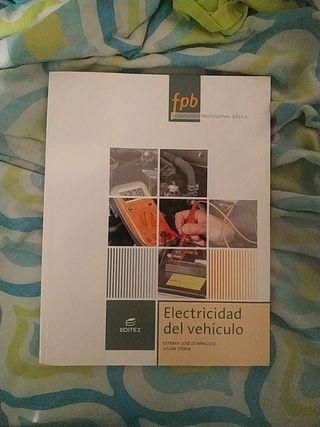 libro de fp electricidad del vehículo