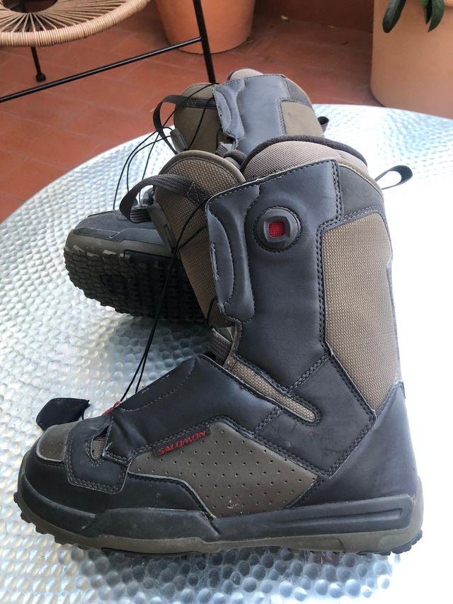 Botas snowboard Salomon hombre 42 2/3