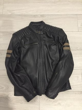 CHAQUETA MOTO LEM LEGEND MARRON