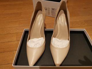 Zapato piel marfil novia o vestir Pedro del Hierro