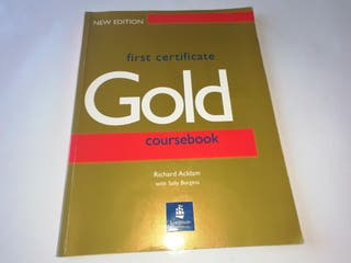 First certificate gold