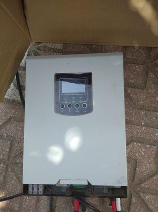 placa solar+inversor cargador