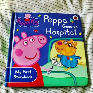 Peppa Pig Goes To Hospital New Book