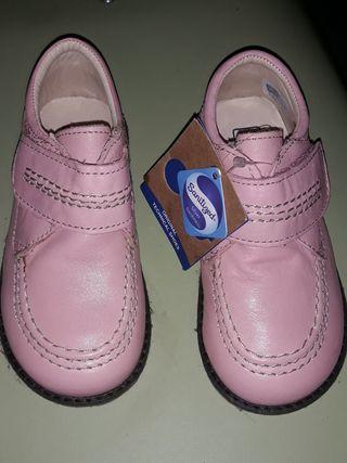 zapatos tipo piel