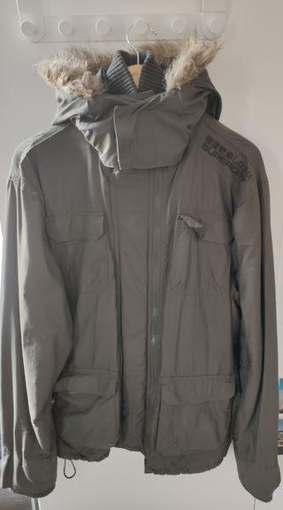 Superdry winter coat (men, green colour, size XL,