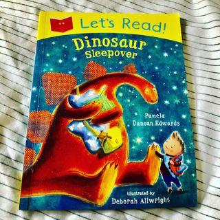 Let's Read Dinosaur Sleepover New Book