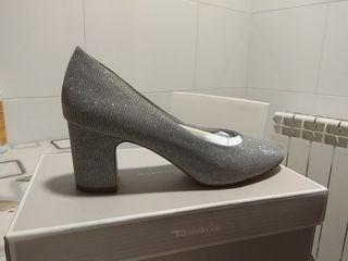 Zapatos tacón medio talla 40