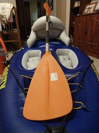 urgente . kayak + remo + inflador =90€