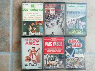 lote cassettes país Vasco / Navarra