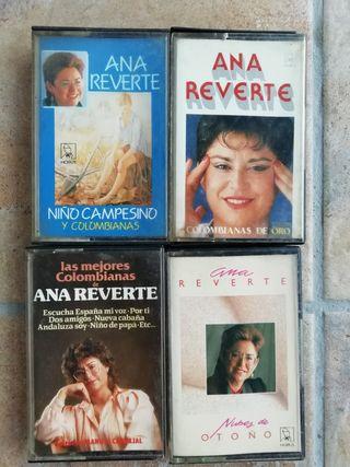 Ana Reverte, lote cassettes