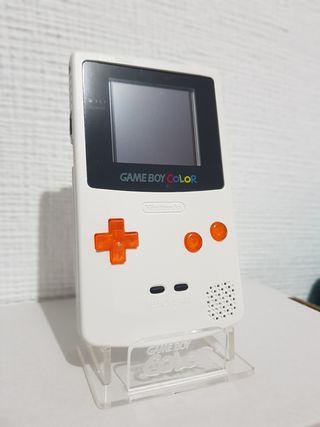 Game boy color light custom