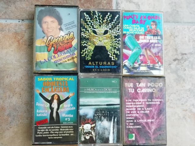 lote cassettes varios