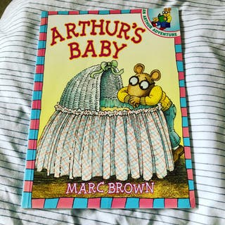 Arthur's Baby by Marc Brown New Book