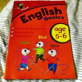 English Basics Age 5-6 Workbook New