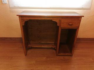 escritorio madera +silla