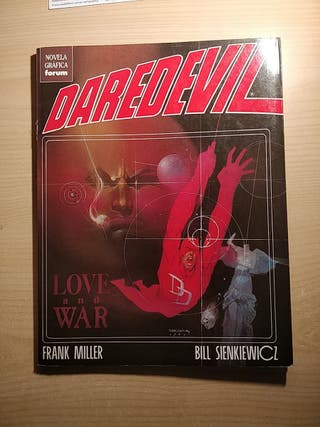 Daredevil Love and War - Miller / Sienkiewicz