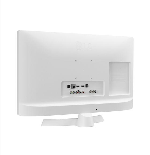 "smart tv LG 24"" blanco"