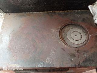 chapa de cocina de carbón