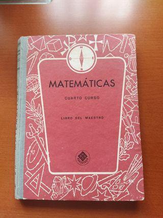 Pack de tres libros de matematicas antiguos