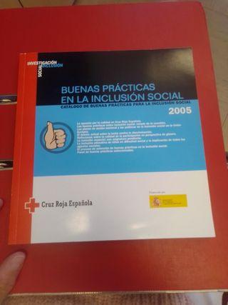 libro buenas prácticas en la inclusión social