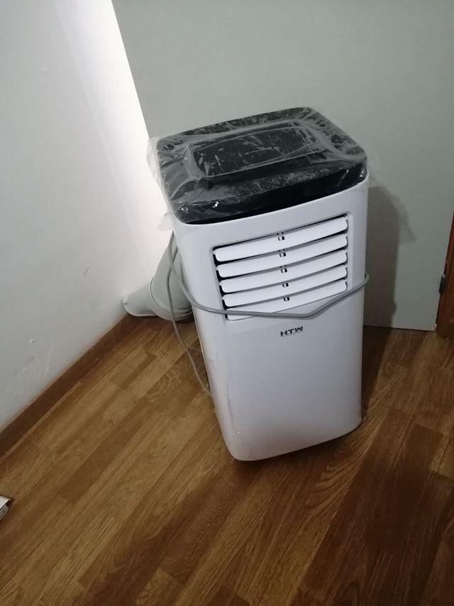 aire acondicionado mas calentador de aceite