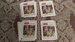 Lote 40 sobres de cromos Star Wars Carrefour