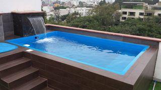 Mini piscina elevada Sol