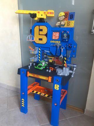 Banco de trabajo Bob el constructor