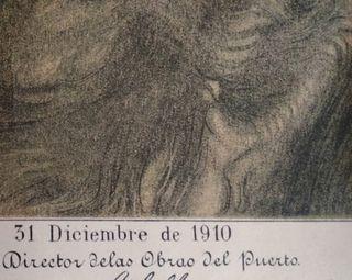 Carta naútica bahía de Vigo