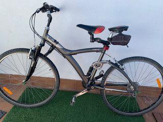 Bici xl para llevar niño, amortiguación total