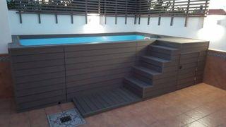Mini piscina elevada Luna
