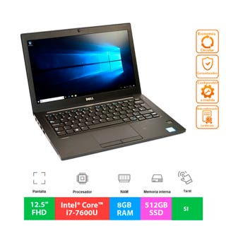 "Dell Latitude 7280 - i7 - 512GB - 12.5"" Táctil"