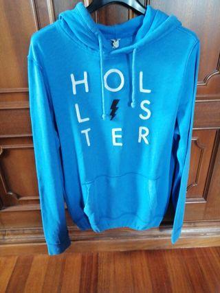 Sudadera de algodón 100 por cien marca Hollister
