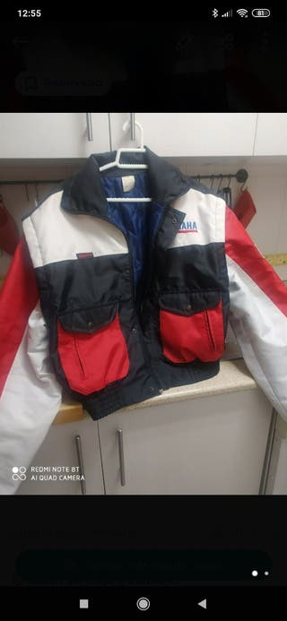 chaqueta yamaha moto