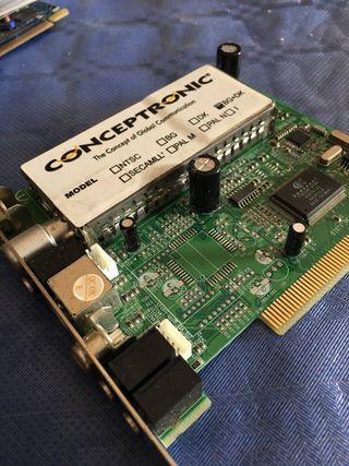 Capturadora PCI Conceptronic