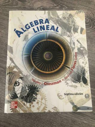 LIBRO ALGEBRA LINEAL GENERAl CARRERAS INGENIERIA