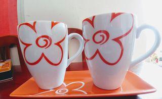 Juego Café/ té porcelana