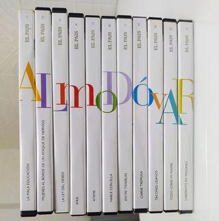 Colección DVD filmografía ALMODÓVAR