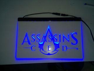 Cartel luminoso led ASSASSINS CREED