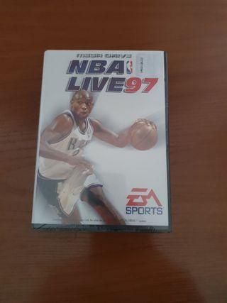 Nuevo (Precintado) NBA live 97 megadrive