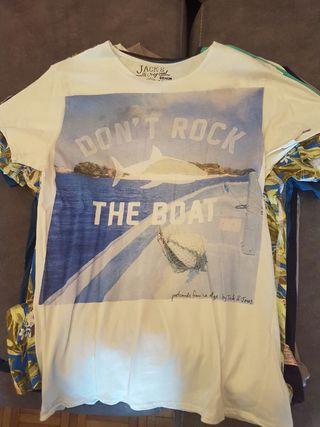 Lote 8 camisetas Jack & Jones