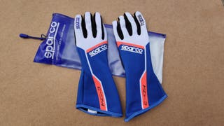 Guantes Sparco Track Kg-3 karting impecables