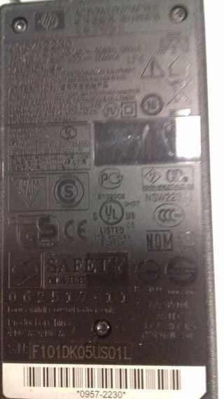 Transformador original para impresora HP