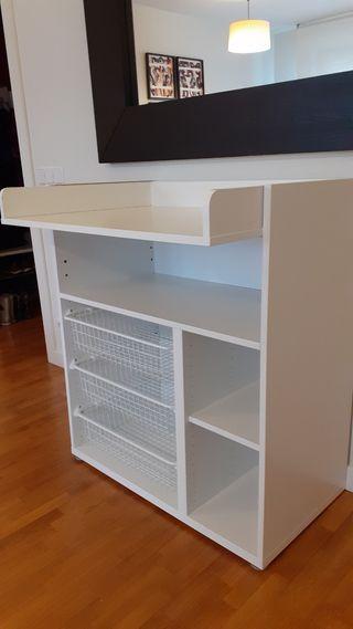 Cambiador Ikea de segunda mano en Pamplona en WALLAPOP