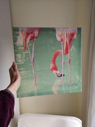 cuadro flamingo