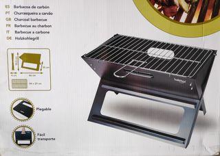 Barbacoa de carbón sobremesa